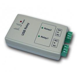 Bi-Relais pilotable par port USB dans boitier ABS