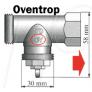 Adaptateur Danfoss Living Connect pour vanne Oventrop