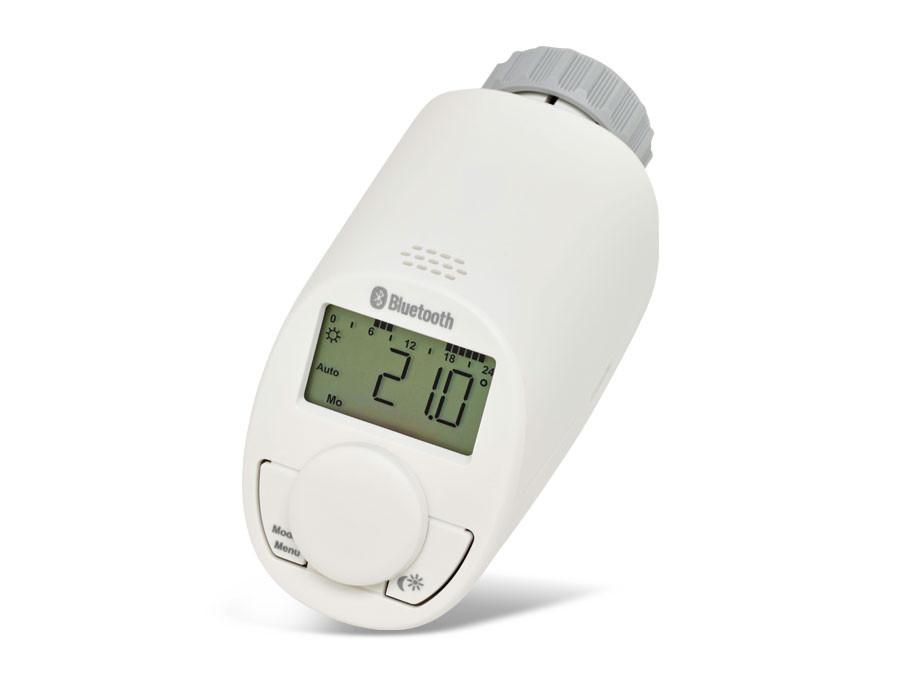 T te thermostatique pour radiateur avec bluetooth eq 3 for Tete de radiateur thermostatique