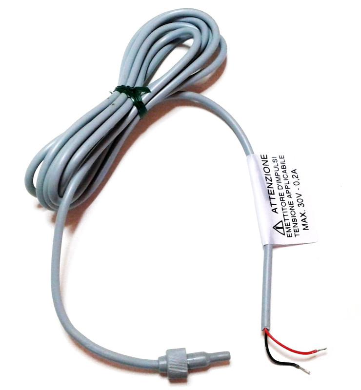 Câble reed transmetteur dimpulsion pour compteur Gioanola