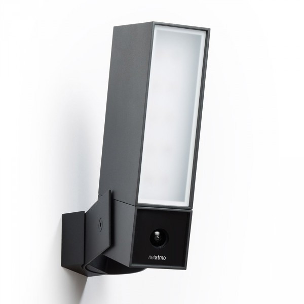 cam ra ip hd ext rieure de surveillance avec d tecteur de pr sence netatmo. Black Bedroom Furniture Sets. Home Design Ideas