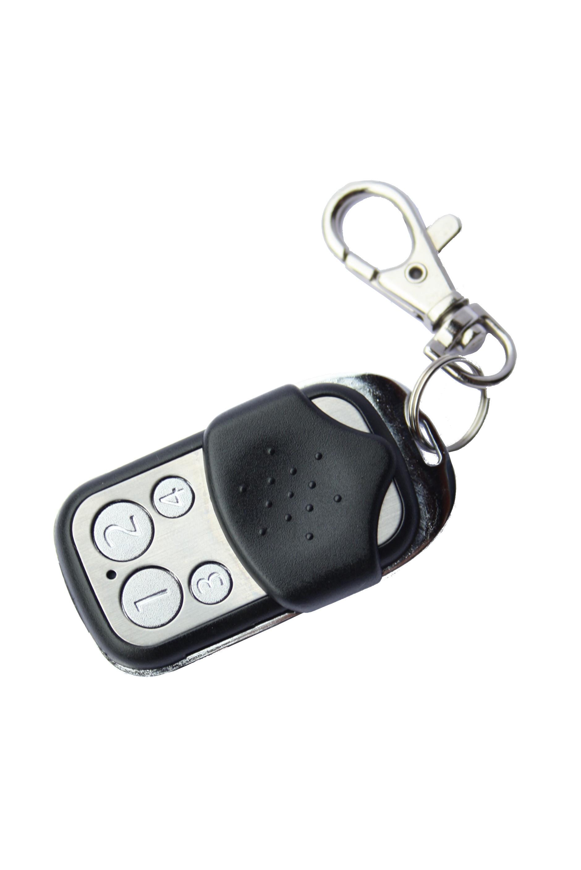 T l commande porte cl 4 boutons z wave plus keyfob c popp for Porte telecommande
