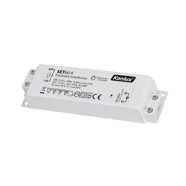 Transformateur lectronique 60w 12v - Transformateur 220v 12v pour lampe halogene ...