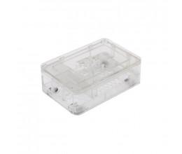 Boitier pour carte Raspberry Pi (2B, 3B, B+) Couleur transparent - RSPro