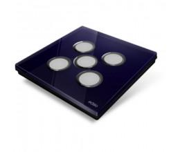 Plaque de recouvrement Diamond - Bleu Nuit 5 Touches - Edisio