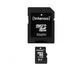 Carte Micro-SD 8GB Classe 10 - Intenso