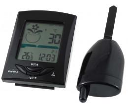 Station thermomètre numérique et sonde de surveillance du sol XH300