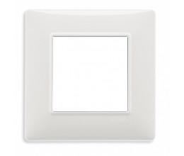 Plaque de finition PLANA technopolymère blanc - Vimar