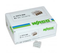 Lot de 50x Connexions automatiques 8 bornes - Wago