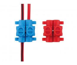 Lot de 10 connecteurs rapides - Wizelec