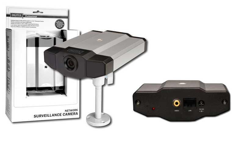 DIGITUS Caméra de surveillance IP, indoor, 1 port réseau