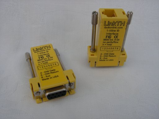Contrôleur LinkTH 1-wire (RJ45)