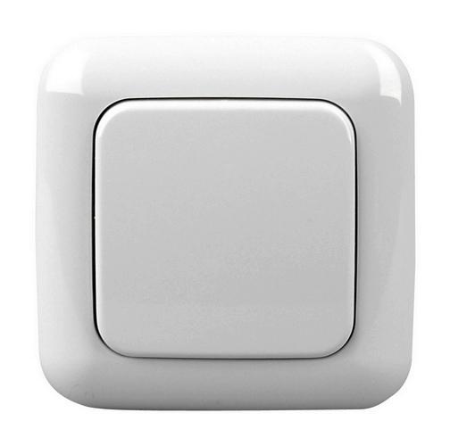 cadre pour zme wallc s bouton unique finition bj articwhite. Black Bedroom Furniture Sets. Home Design Ideas