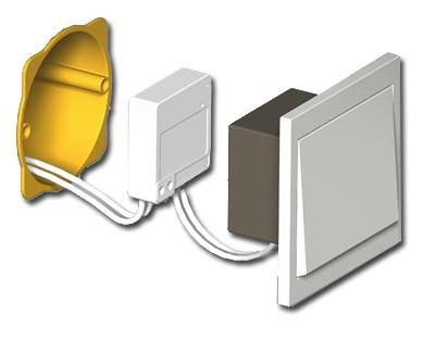Nouvelle gamme di o plan te domotique le blog for Interrupteur sans fil exterieur