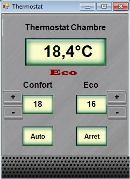 Thermostat & Hstouch