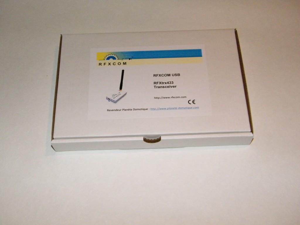 Découverte du nouveau Rfxcom USB : le Rfxtrx433