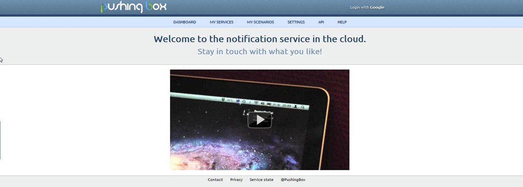PushingBox ! Un service de notifications dans le CLOUD