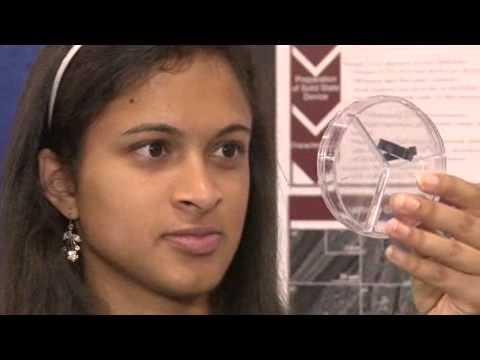 """Eesha Khare est le """"super condensateur"""""""