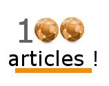 100 articles sur le blog Planète Domotique !