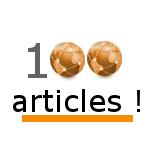 100 articles : le blog s'offre un nouveau desgin pour l'occasion