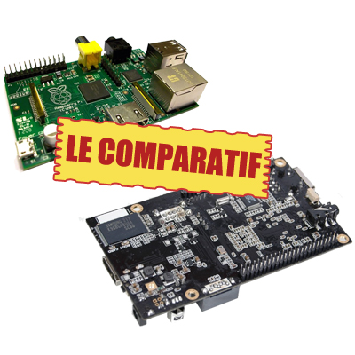 Cubieboard et RaspberryPi : un comparatif entre les deux