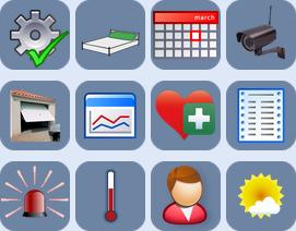 jeu d'icones initiales