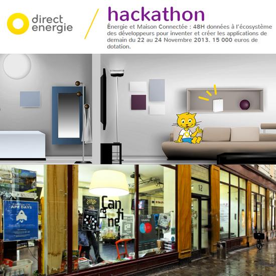 Hackaton Direct Energie : 48h pour créer des applications domotique