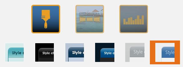 Nouveaux styles de présentation de Zibase