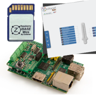 ZiBASE Mini : les fonctionnalités de la ZiBASE sur votre Raspberry