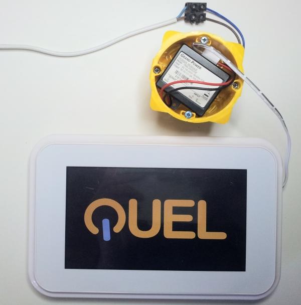 Branchement du CC QUEL au secteur
