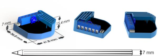 Taille compacte des modules Qubino