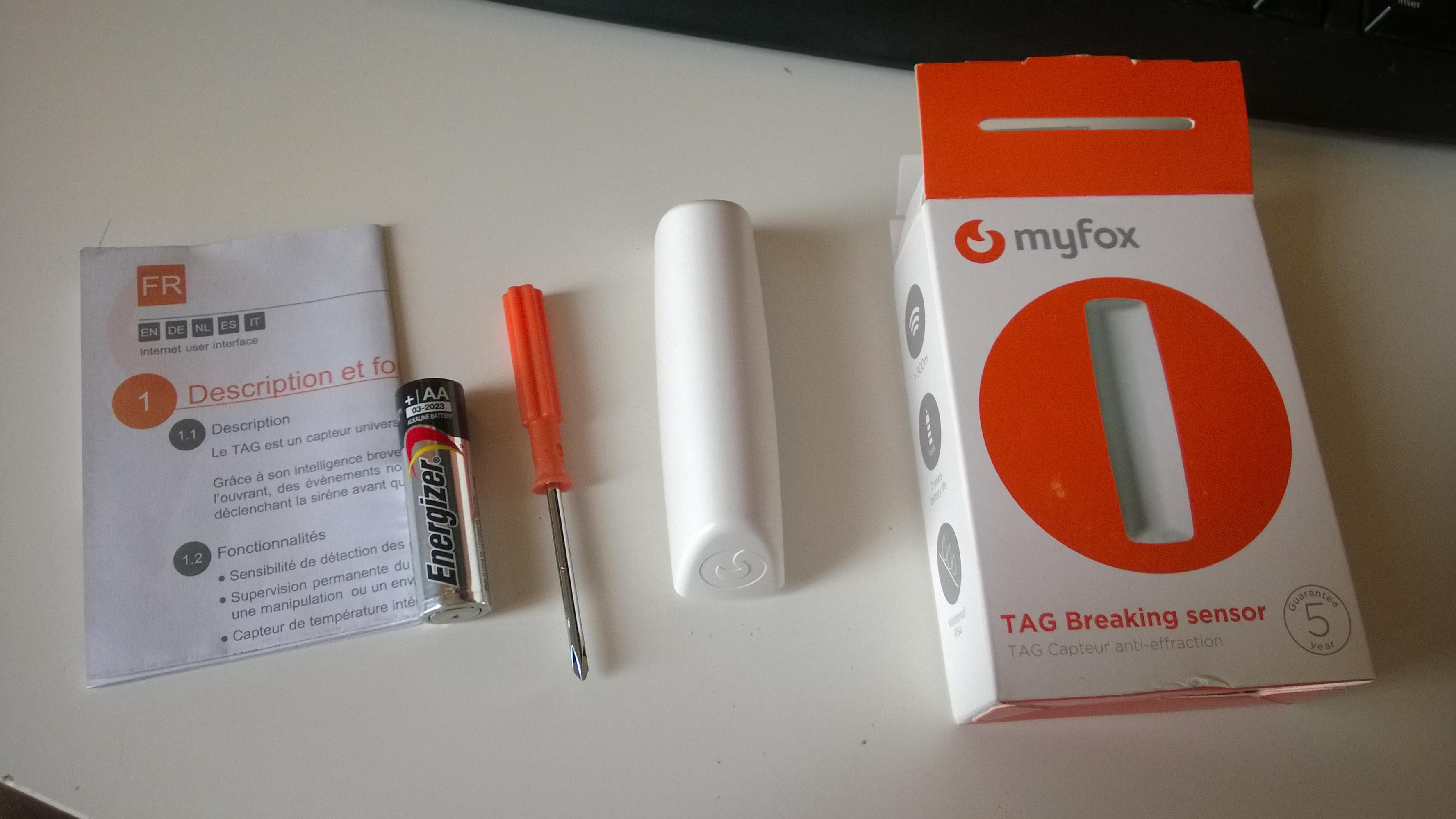 IntelliTAG : le nouveau détecteur anti-intrusion de MyFox