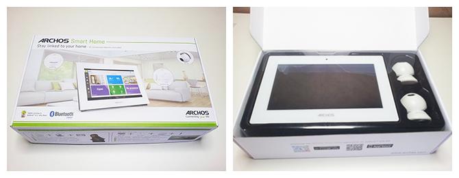 Unboxing de l'Archos Smart Home