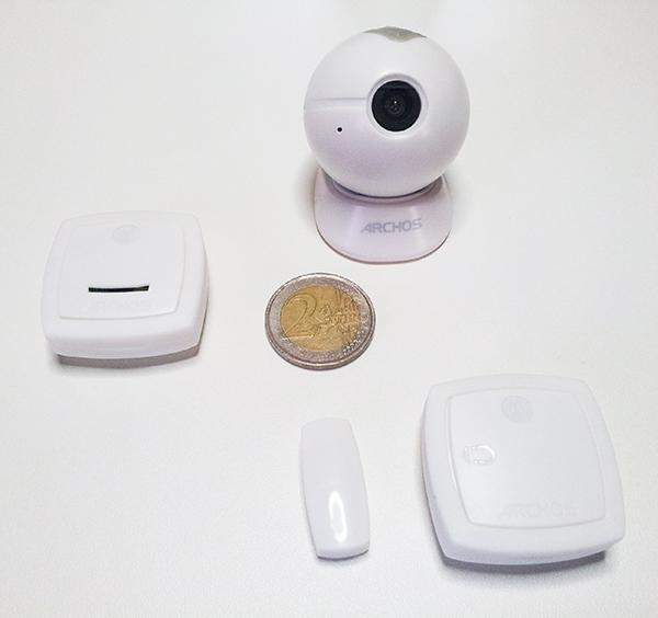 Éléments connectés de l'Archos Smart Home