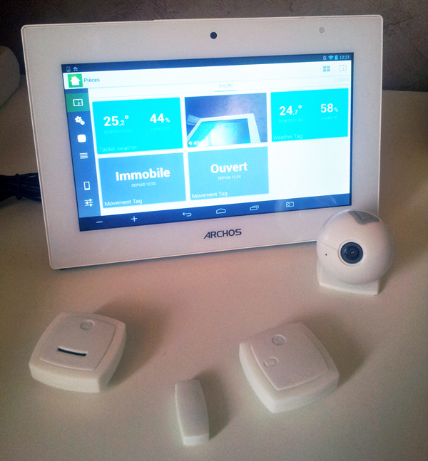 ARCHOS Smart Home : la domotique avec tablette et modules miniatures
