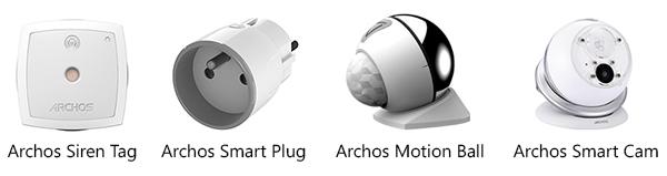 Archos Smart home - futurs éléments sans fil de la gamme