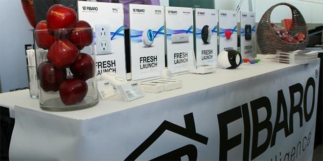 Fibaro annonce trois nouveaux modules : bouton, enceinte et interphone