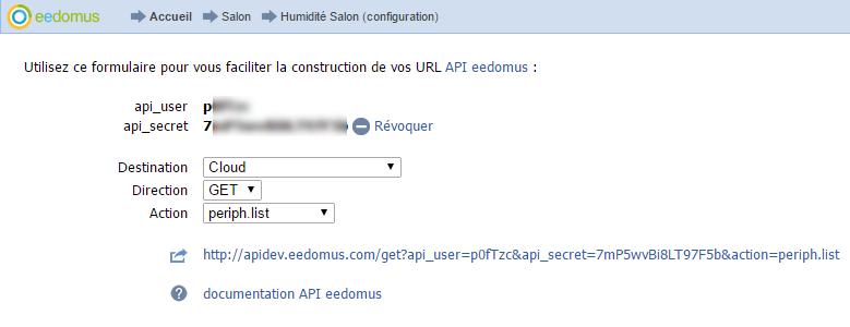 Formulaire assistant API