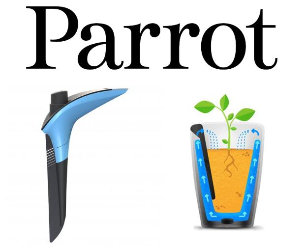 CES 2015, Parrot Pot et Parrot H2O : les sondes connectées pour plantes