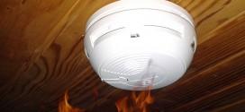 DAAF au plafond - détecteur de fumée