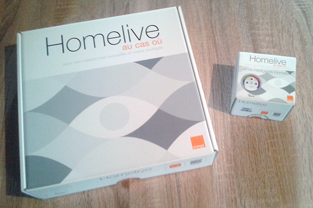 HomeLive Pack avant ouverture