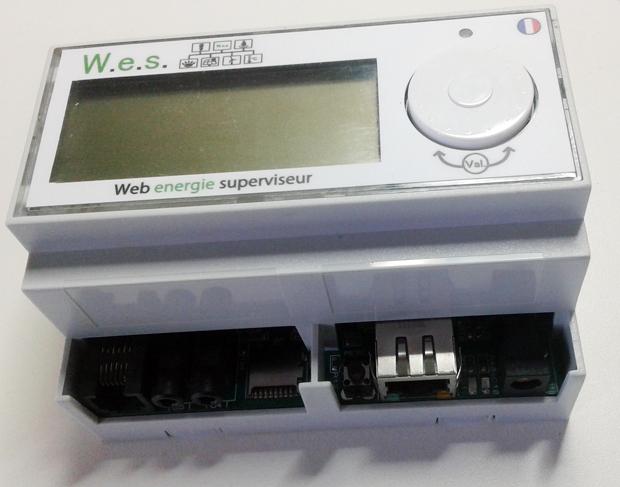 WES avec écran LCD éteint