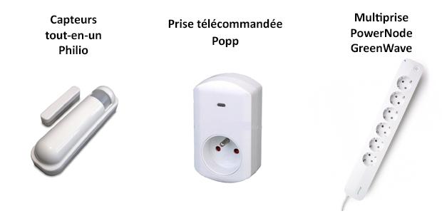 Nouveaux produits Z-wave pris en charge par l'eedomus (2) - avril 2015