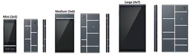 Projet Ara de Google, le mobile à composer sur mesure