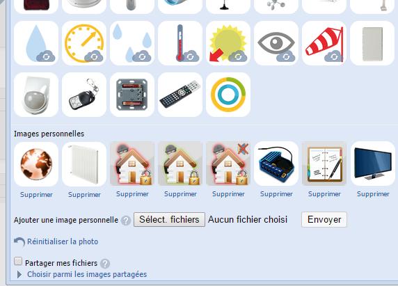 eedomus : icones personnelles