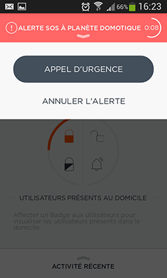 Blog : alerte du Home Alarm