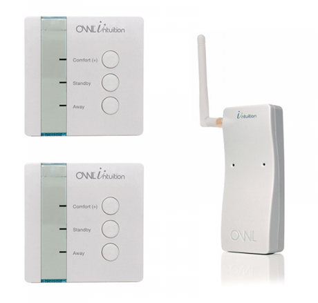 Pack Intuition-cw pour gestion du chauffage sans fil