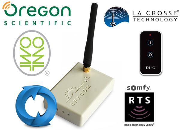 RFXTrx 433 MHz & RFXCom et méthode de mise à jour