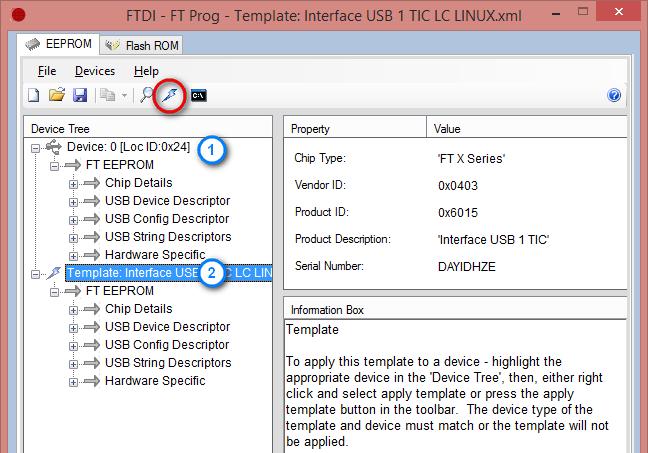 Chargement du firmware sur un modem téléinformation