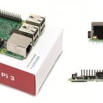 Raspberry Pi version 3 : différents angles de vue